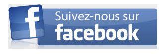 Vous pouvez également nous suivre sur Facebook
